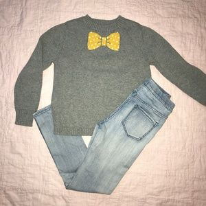 Girls sweater and H&M jeggings outfit - Sz 8